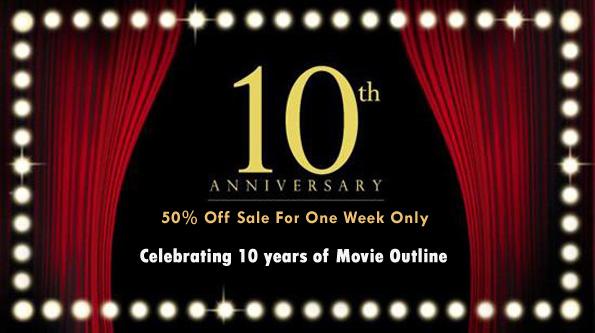 Movie Outline Anniversary Banner